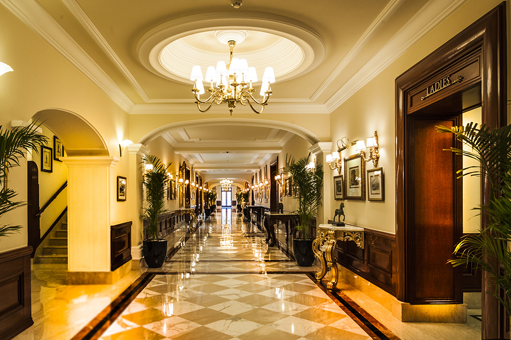 Lobby Corridor- at the Imperial Hotel