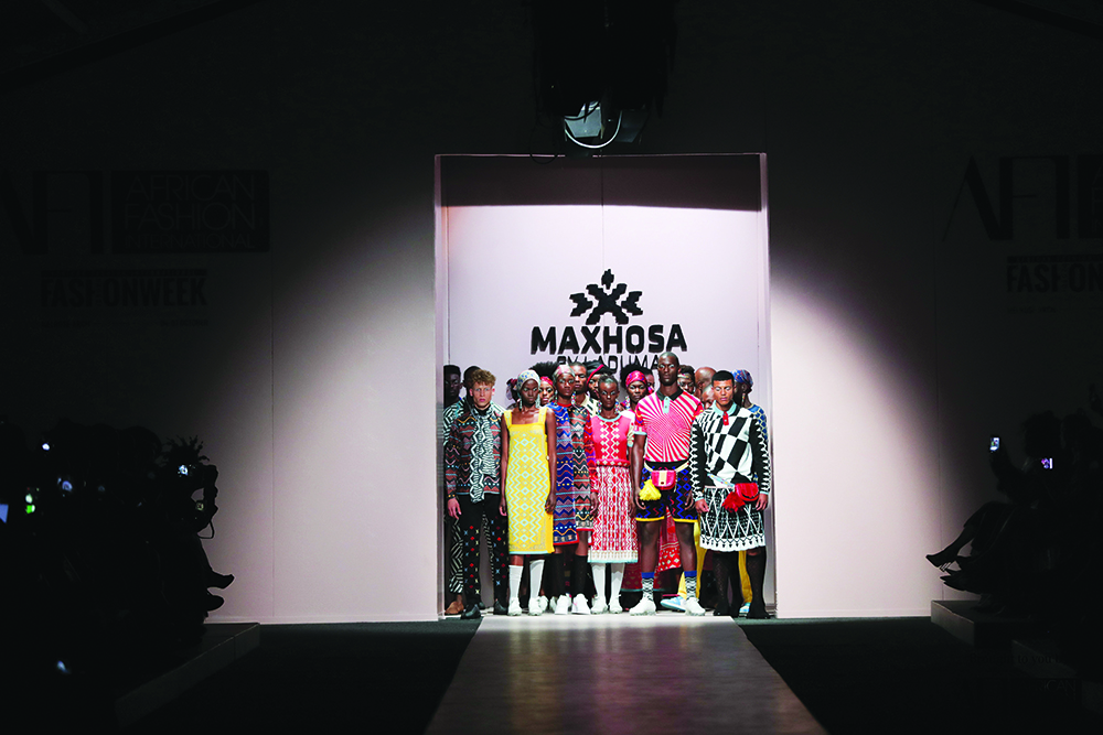 MaXhosa Africa on the runway