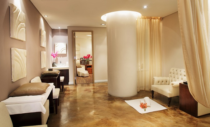 The Sandton Sun SPA is situated at the end of the Sandton City Diamond Walk on the mezzanine level above the Sandton Sun reception