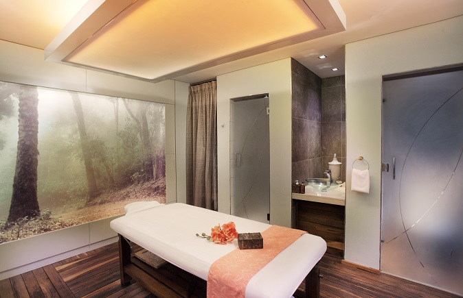 Treatment rooms at the Sandton Sun SPA