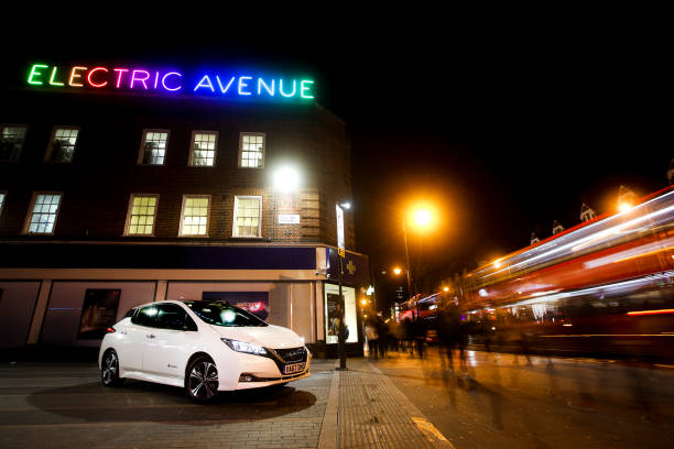 Electric Avenue and Brixton Road in London, England. Photo by Charlie Crowhurst/Getty Images for Nissan