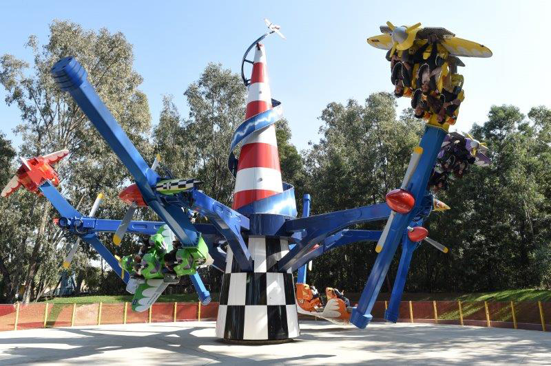 The High Flying Maverick at Gold Reef City Theme Park is part of the Dare to Ride promotion