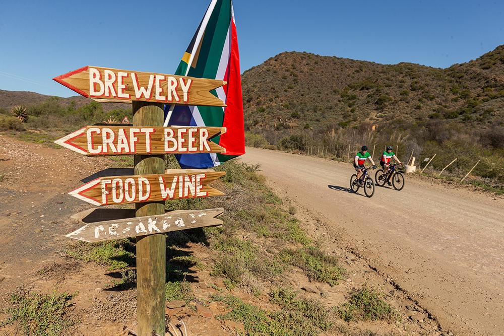 Jan Braai Cycle stops along the way