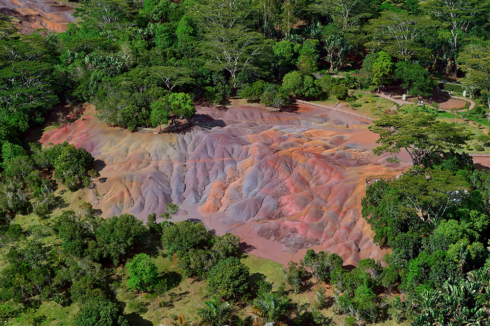 Seven Coloured Earth Mauritius