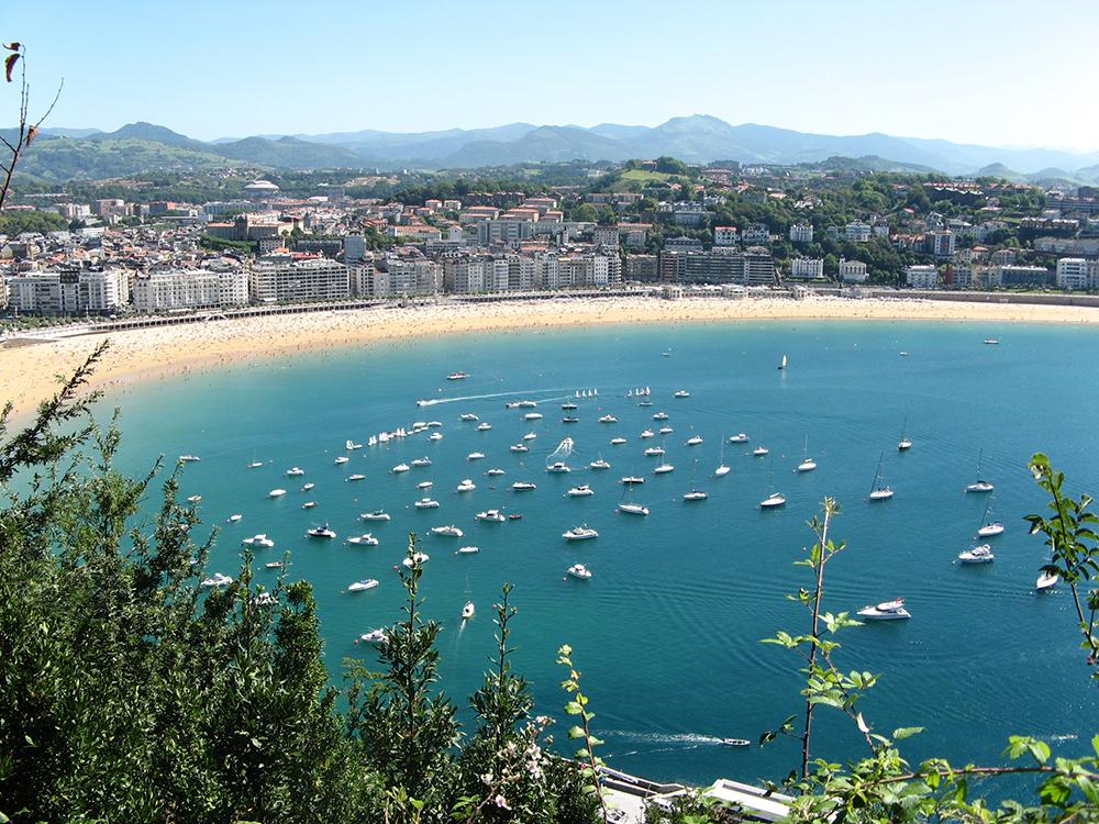 La Concha Beach, Spain. Photo: Pixnio