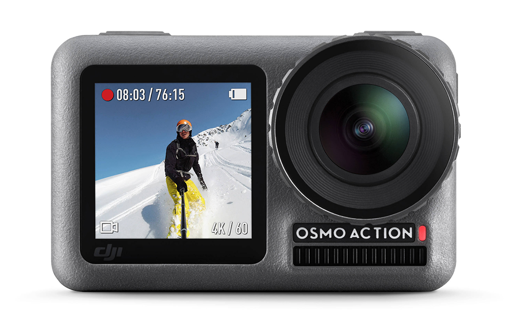 The 4K HDR Osmo Action camera