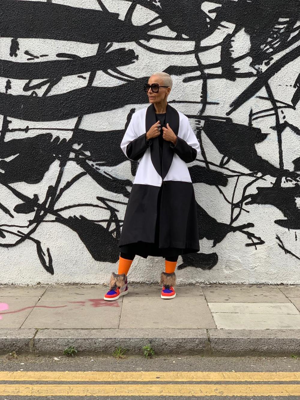 Yasmin Furmie showcasing her style