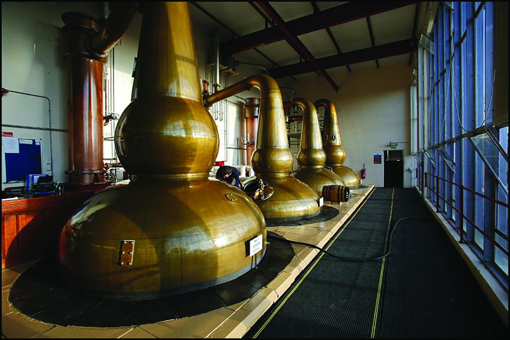 Glendronac distillery