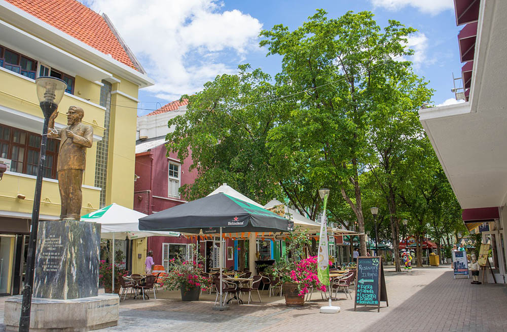 Architecture in Curacao