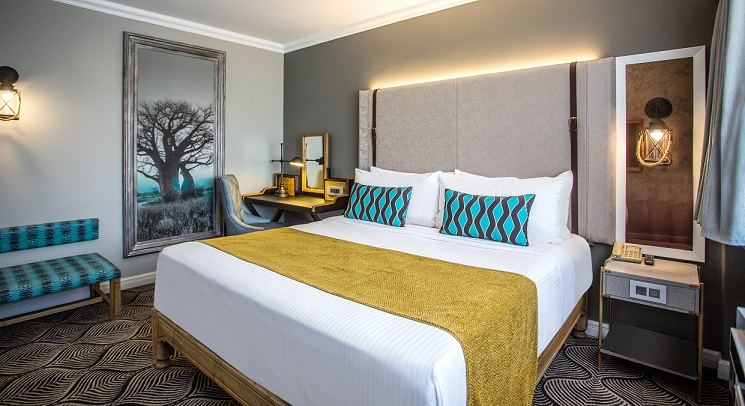 Newly refurbished rooms at the Southern Sun Ridgeway Lusaka