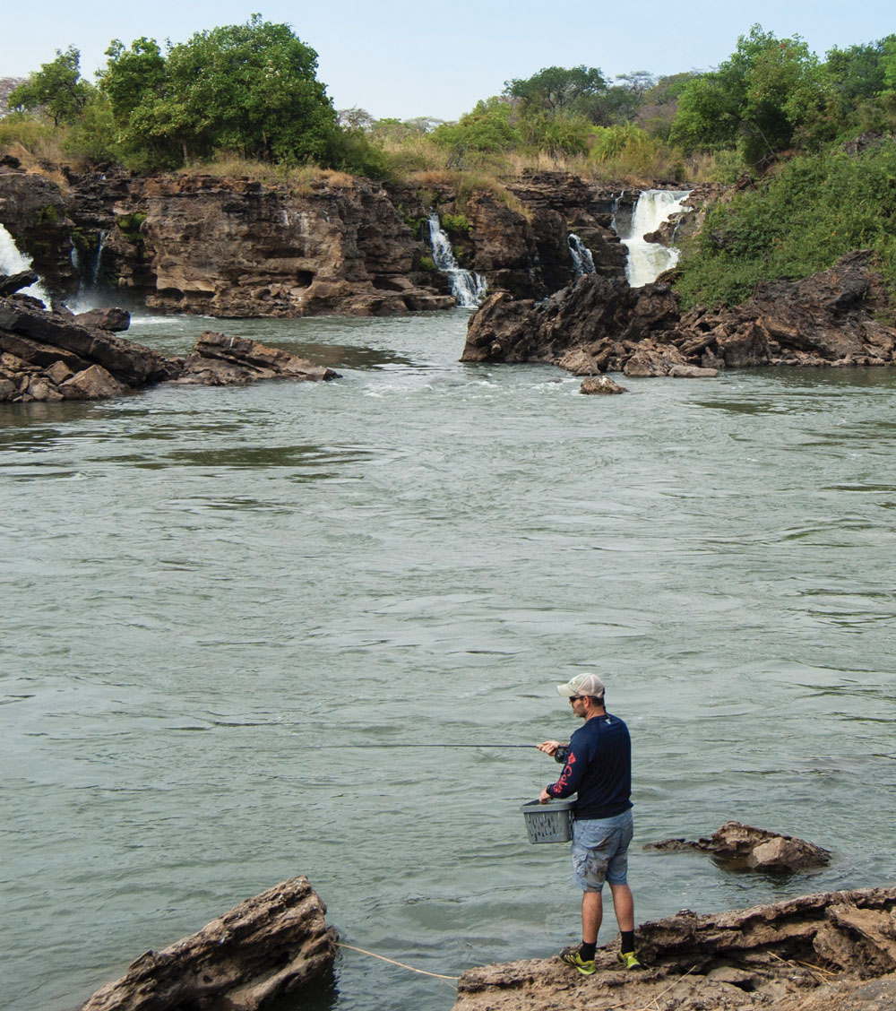 The Zambezi is a completely different river up here than further east. Photo: Jazz Kuschke