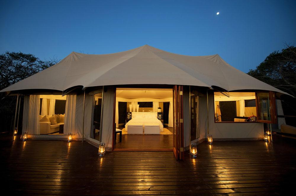 Thanda Tented Camp.