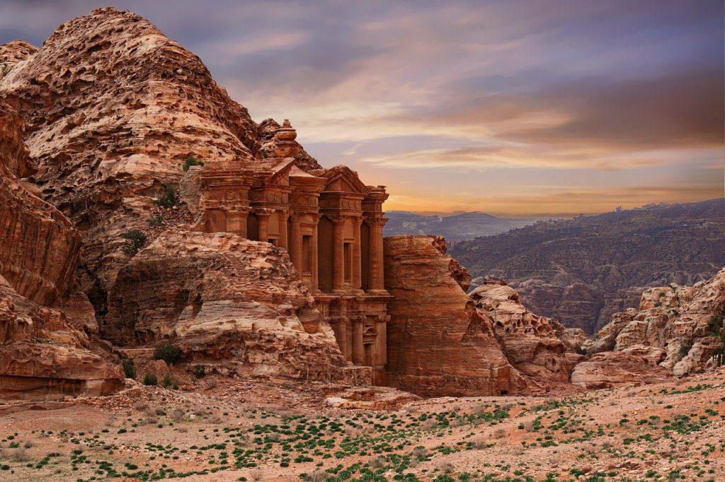Petra Ad Deir World Heritage Site Jordan
